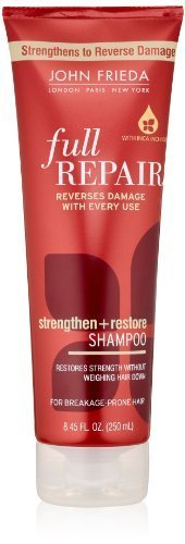 John Frieda Full Repair Strengthen and Restore Shampoo ,8.45 Fluid Ounce (Pack of 2) by KAO Brands [Beauty] (English Manual)