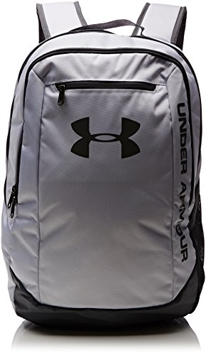 Under Armour UA Hustle Backpack LDWR Mochila, Hombre, Blanco (Blanco)
