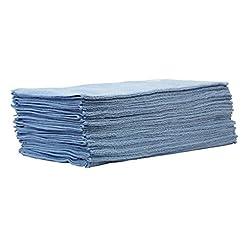 25pezzi set cleanofant panno di panno blu 40x 40cm–Alta Qualità panno in microfibra per la pulizia e la cura di roulotte, camper, caravan