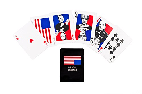 Cool TV Props Deck of Playing Cards Inspired by House of Cards