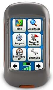 Garmin Dakota 20 GPS-Handgerät (barometrischer Höhenmesser, 850MB Speicher, 6,6cm (2,6 Zoll) Touch-Farbdisplay)