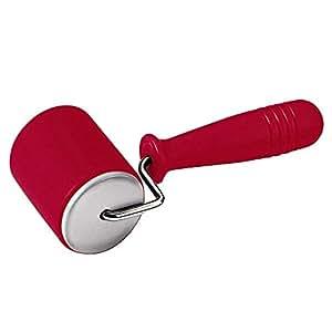 Kaiser 2300686158 Kaiserflex Red Teigausroller, 6,8 cm, Durchmesser: 5,5 cm