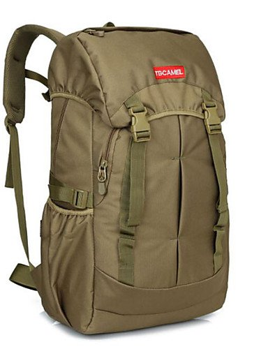 ZQ 2 L Rucksack Camping & Wandern Legere Sport Multifunktions Braun 600D Ripstop Other three sand color