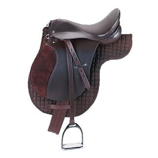 Kerbl 32198 Haflinger Saddle Set - Brown 14
