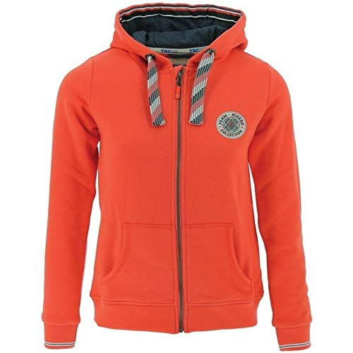 Equi-Theme Sweatjacke Equitheme Riders Collection Kids  - Orange - Gr. 16 Jaar