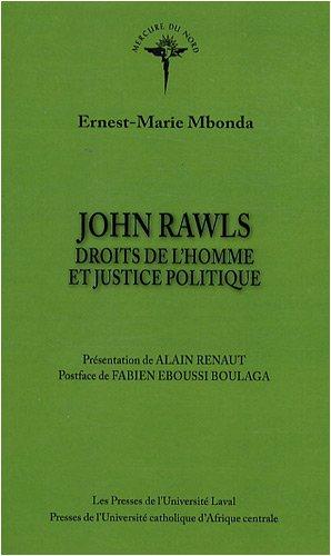 John Rawls : Droits de l'homme et justice politique