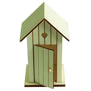 Artemio 14 x 8.5 x 7 cm Wooden Beach Huts, Set of 2, Beige
