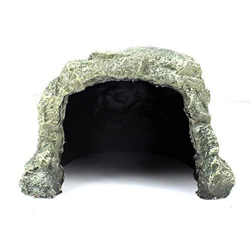 MLQ Reptiliensimulation Rock Cave Reptile Habitat Platform Rock Reptilien Vermeiden Sie Rock Caves Hide Cave -