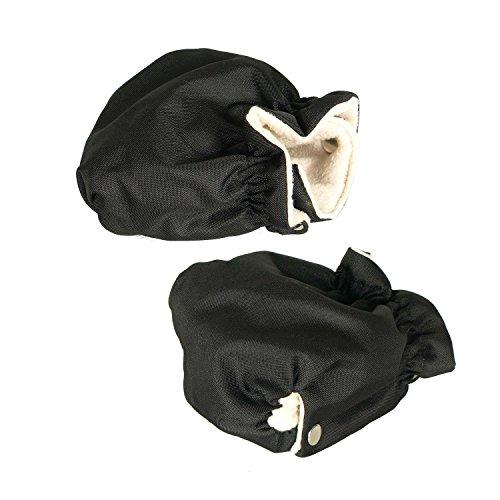 Handschuhe für Kinderwagen (schwarz)
