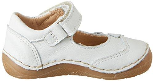 FRODDO Ballerina G2140025-3, Chaussures Marche Bébé Fille Weiß (White)