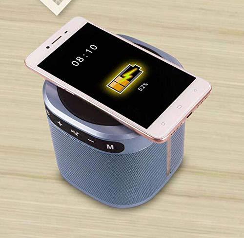 CE-LXYYD E201 tragbare drahtlose Lade-Bluetooth-Lautsprecher, tragbare Mini Outdoor kreative Karte Bluetooth Audio mit Ladefunktion,Silver