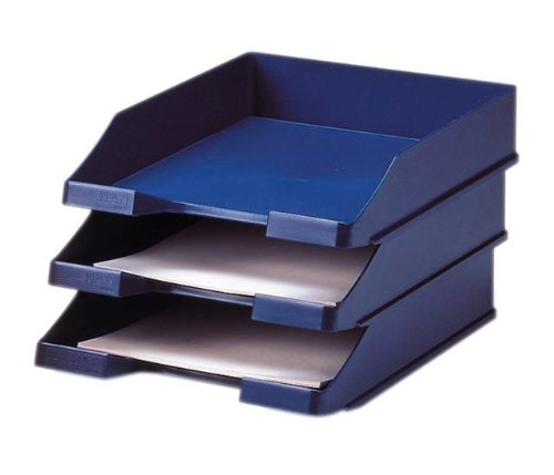 HAN 1027-X-14, Briefablage KLASSIK, Modern, Schick und Hochglänzend, 10er Packung, blau