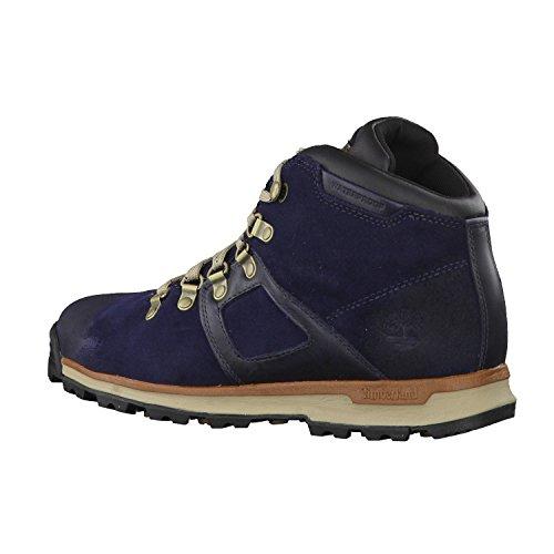 Timberland Gt Scramble Leather Waterproof, Bottes Chukka Homme blue