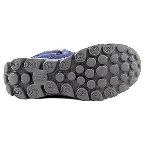 Skechers Go Walk Movechugga Imprint, Bottines sans doublure intérieure femme Bleu Marine