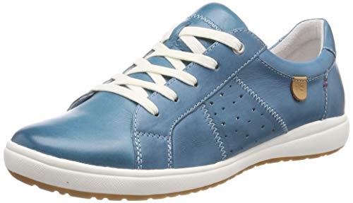 Josef Seibel Damen Caren 01 Sneaker, Blau (Azur 133 515), 36 EU -