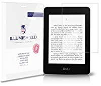 iLLumiShield - Amazon Kindle Paperwhite Screen Protector (2012-2013) Japanese Ultra Clear HD Film with Anti-Bubble and Anti-Fingerprint - High Quality (Invisible) LCD Shield - Lifetime Replacement Warranty - [3-Pack] OEM / Retail Packaging (Model(s): 3G /