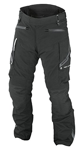 Nerve West Coast Lady Tourenhose, Schwarz, 48 (Stop-fleece-hose)