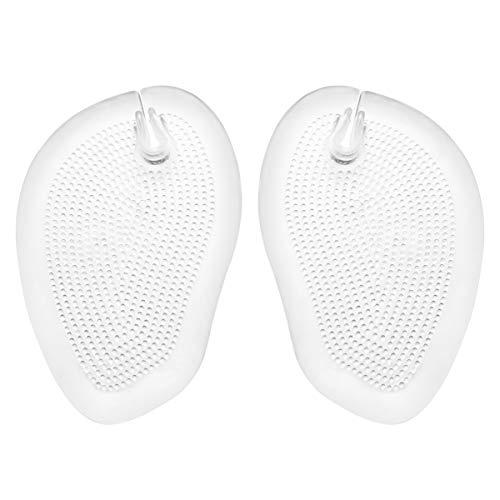 SUPVOX 2 Paar rutschfeste weiche Silikon-Schuheinlegesohlen Flip-Flops Gel-Pads für den Schutz der Schuhfußpflegzehen