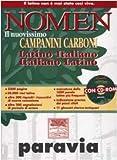 Image de Nomen. Il nuovissimo Campanini Carboni. Latino-ita