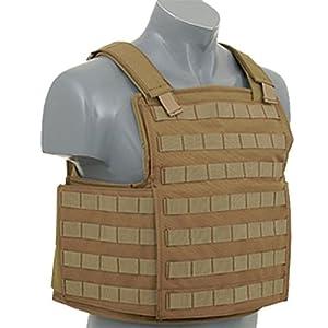 TFG Gilet tactique plate carrier Vest Armor Airsoft