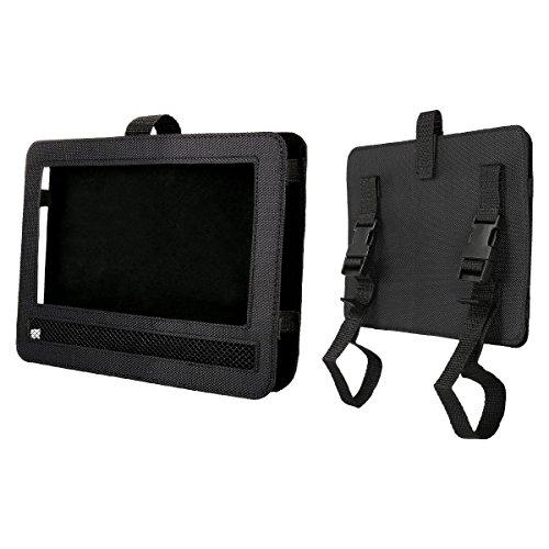 Auto KFZ Kopfstützenhalterung Kopfstütze Halterung, RUISIKIOU Auto Kopfstützenhalterung für Drehgelenk & Flip Tragbarer DVD Player KFZ Kopfstütze Halterung Gehäuse (9-9.5 Zoll ) - 2