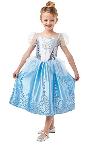 Rubie's 640718l Disney Prinzessin Cinderella Gem Kostüm, Mädchen, groß (Cinderella Kostüm Disney)