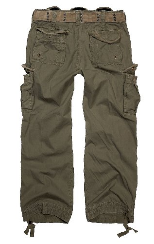 Brandit Royal Vintage Trousers Freizeithose schwarz Grn