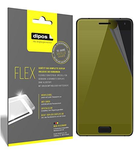 dipos I 3X Schutzfolie 100% passend für ZUK Z2 Pro Folie (Vollständige Displayabdeckung) Displayschutzfolie