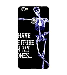 LE ECO LE 1S SKELETON Back Cover by PRINTSWAG