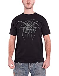 Darkthrone T Shirt True Norwegian Schwarz Metal band logo offiziell Herren
