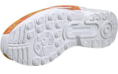 adidas ZX Flux, Sneaker Uomo arancione mélange