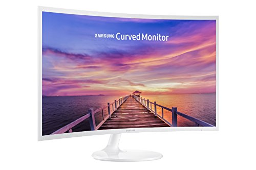 Samsung C32F391 32-Inch Curved LED Monitor - White Gloss