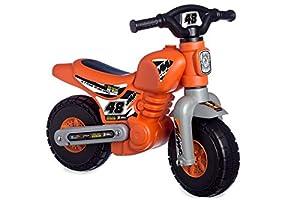 Chicos - Correpasillos Jumpy, Color Naranja (Fábrica de Juguetes 36017.0)
