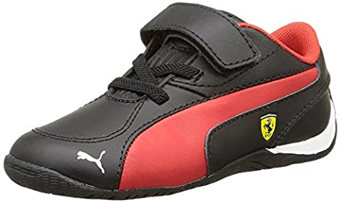 Puma Drift Cat 5 L Sf V, Baskets mode mixte enfant, Noir (Black/Rosso Corsa), 20