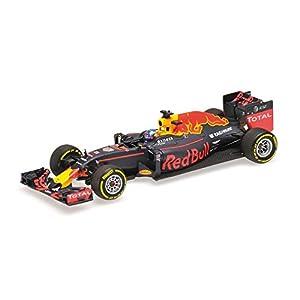 "Minichamps 417160003 - Escala 1:43 ""Red Bull Racing Tag-Heuer RB12 D.Ricciardo Modelo Fundido"