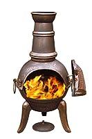 Gardeco 90cm Granada Cast Iron Chimenea