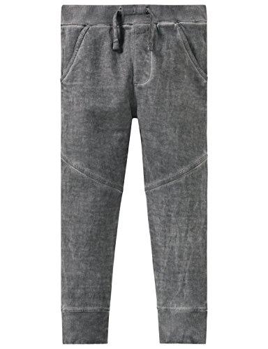 Schiesser Jungen Sporthose Sweathose, Grau (Grau 200), 104