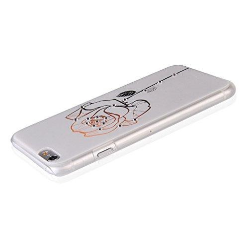 UKDANDANWEI Apple iPhone 5S Hülle Case - Bling Strass Ultra Dünn Hart PC Hülle Glitzer Rückseite Slim Etui Schale für Apple iPhone 5S -27 Bling-01
