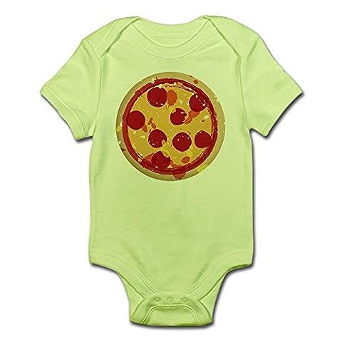 CafePress - Pizza By Joe Monica - Cute Infant Bodysuit Baby Romper