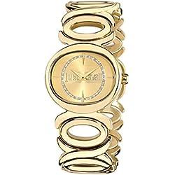 Just Cavalli Double R7253655503 gold Armbanduhr Watch Damen