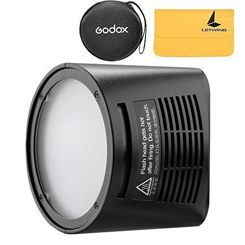 Godox H200R Ring Flash Kopf mit 200Ws Starke Power und natürliche Lichteffekte für Godox AD200 Pocket Flash, Licht und Portable, die gleichmäßige und weiche Lichteffekte für die Aufnahme bietet