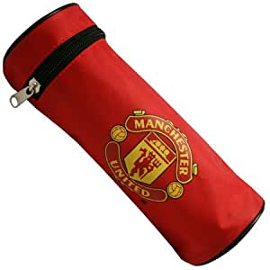 Manchester United Barrel Pencil Case - One Size Only