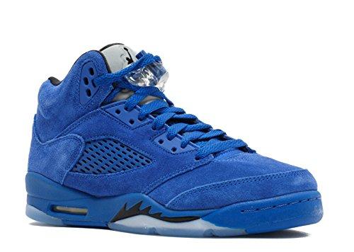 AIR JORDAN 5 Retro BG (GS) 'Blue Suede' - 440888-401 - Size 7-US & 40-EU