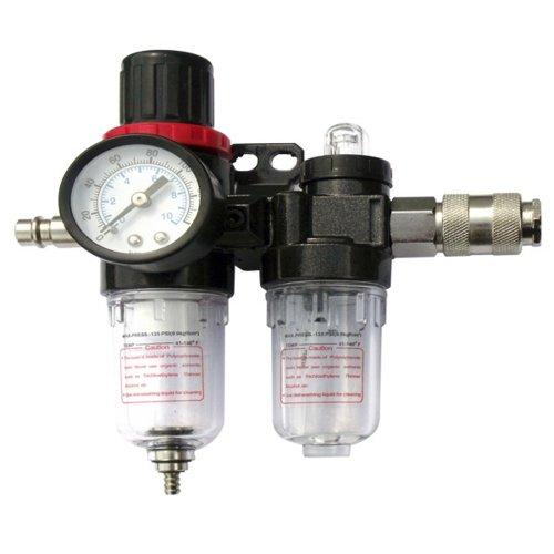Mauk 1081 Druckluft Wartungseinheit Wasserabscheider, Öler und Druckregulierung