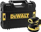 DeWALT DCW210NT-XJ Ponceuse excentrique sans fil 18 V (Basisv.), noir/jaune.