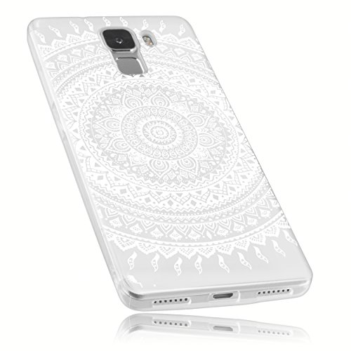 mumbi Schutzhülle Huawei Honor 7 Hülle im Mandala Design