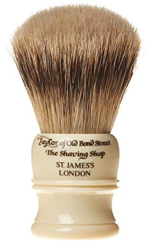 Taylor of Old Bond Street Super Badger Rasierpinsel mit kleinem imit Elfenbeinfarben (Entfernung Bond)