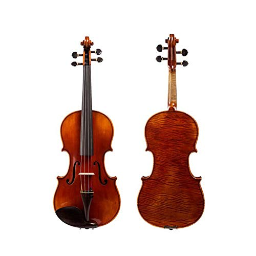 QIANZICAIDIAN Violine, Musikinstrument 4/4 Erwachsene, handgefertigt, 30 Jahre, professionelle Violine, Ahorn-Test, mit Hygrometer in Begleittasche, Musikinstrumente 4/4