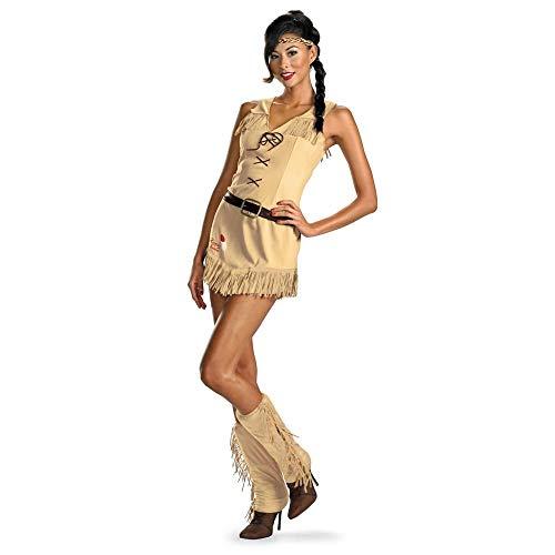 Lone Ranger Sassy Tonto Indian Dress Costume Adult Large 12-14