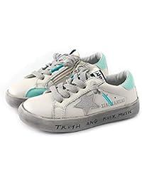 XL_etxiezi Zapatos Casuales para niñas Star Zapatos Retro para niños, Azul_33